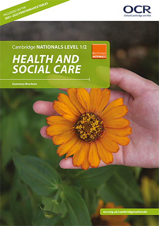 Cambridge-Nationals-Health-Social-Care-Summary-Brochure
