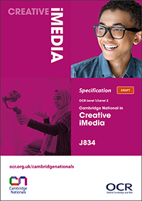 Cambridge Nationals Creative iMedia Spec Cover