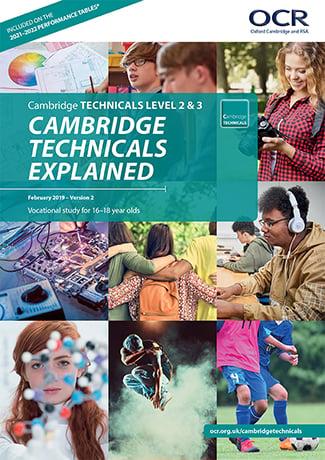 Cambridge Technicals Explained Summary Brochure