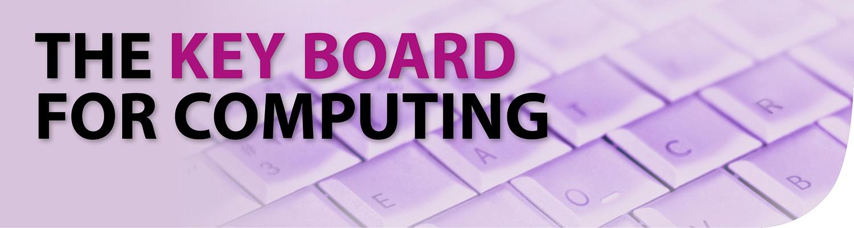 Computing Keyboard Header Image