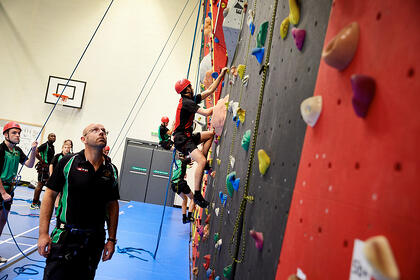 Cambridge National Sport Studies Rockclimbing