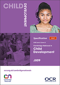 Cambridge Nationals Child Development Spec Cover