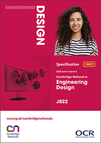 Cambridge Nationals Engineering Design Spec Cover
