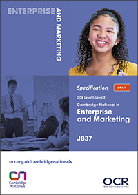 Cambridge Nationals Enterprise Marketing Spec Cover