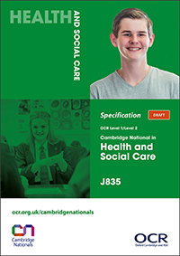 Cambridge Nationals Health Social Care Spec Cover