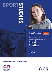 Cambridge Nationals Sport Studies Spec Cover