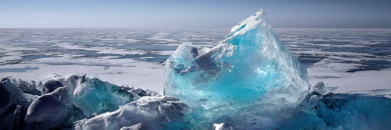 Iceberg and glaciers